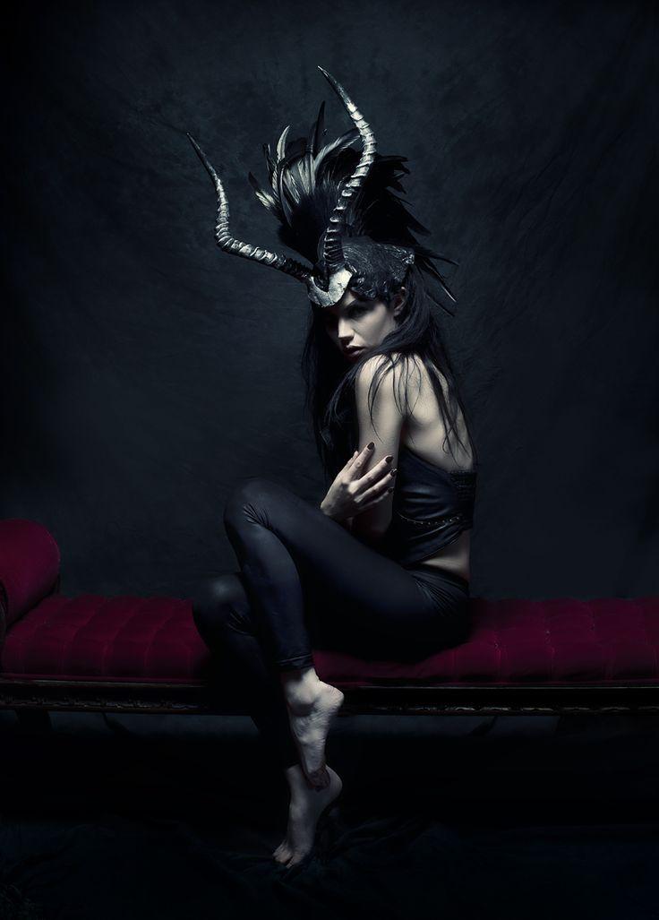 Miss G Designs - Photographer unknown - Fashion Photography - Greek Mythology - Minotaur Concept ideas