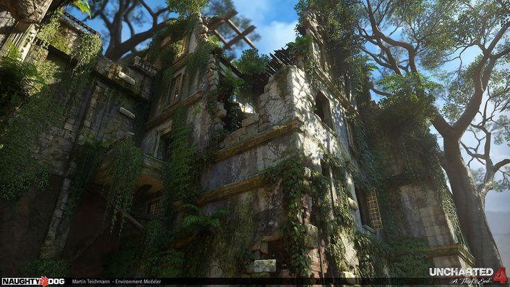 ArtStation - Uncharted 4 - Colony Rich, Martin Teichmann