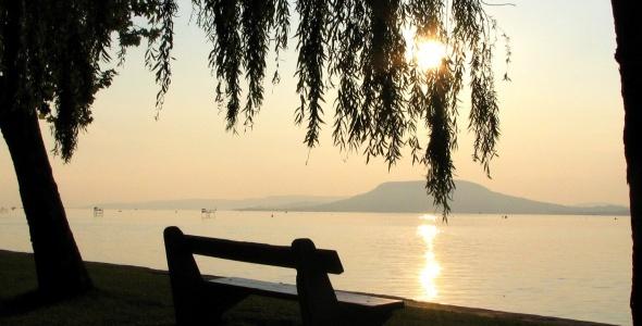 Lake Balaton, Hungary - the largest freshwater lake in Europe
