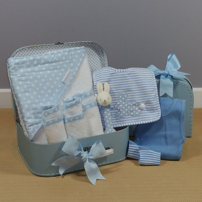 Baby boy gift hamper, perfect for the new arrival! #babyboygift #corporatebabygift
