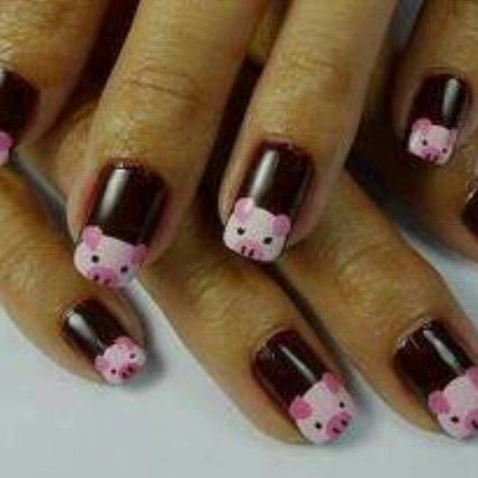 Pig Nail Art: 809 Best Images About Piggies! Decor & Accessories On