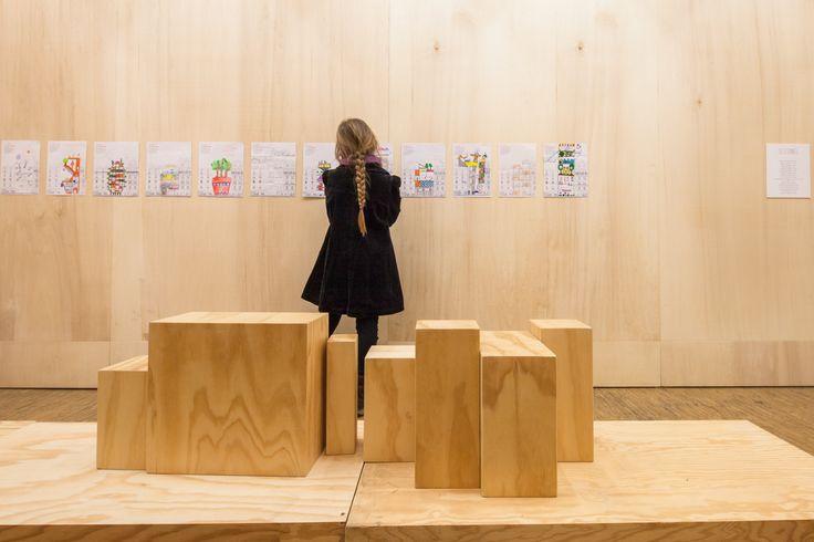 Scénographie des expositions temporaires - Pavillon de l'Arsenal
