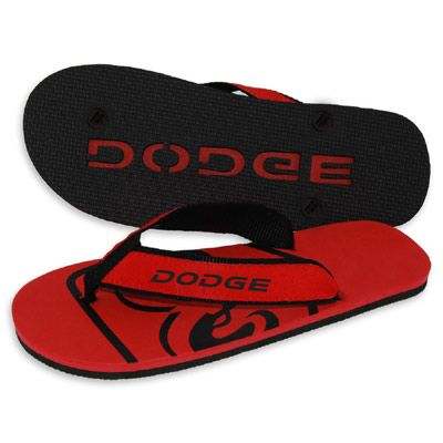 Customize the special flip flops with your own design.