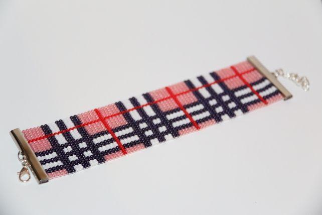 Burberry Print Loom Beaded Bracelet £30.00