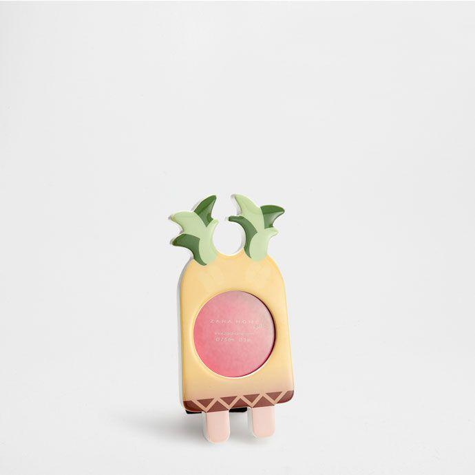 Рамка 'Ананасовое мороженое' - Рамки и Коробки - Декор | Zara Home Россия / Russia