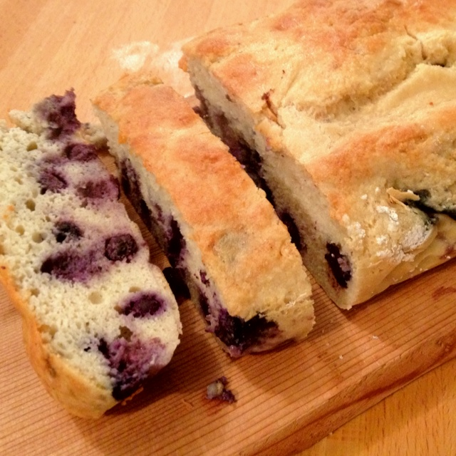 Paleo Blueberry Cake