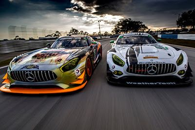 Motor'n | Mercedes-AMG Motorsport Customer Racing Teams Set For 12 Hours of Sebring Debut This Weekend