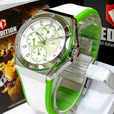 Jam Tangan Expedition E-6391 Silver White Green RP 825,000 | BB : 21F3BA2F | SMS :083878312537