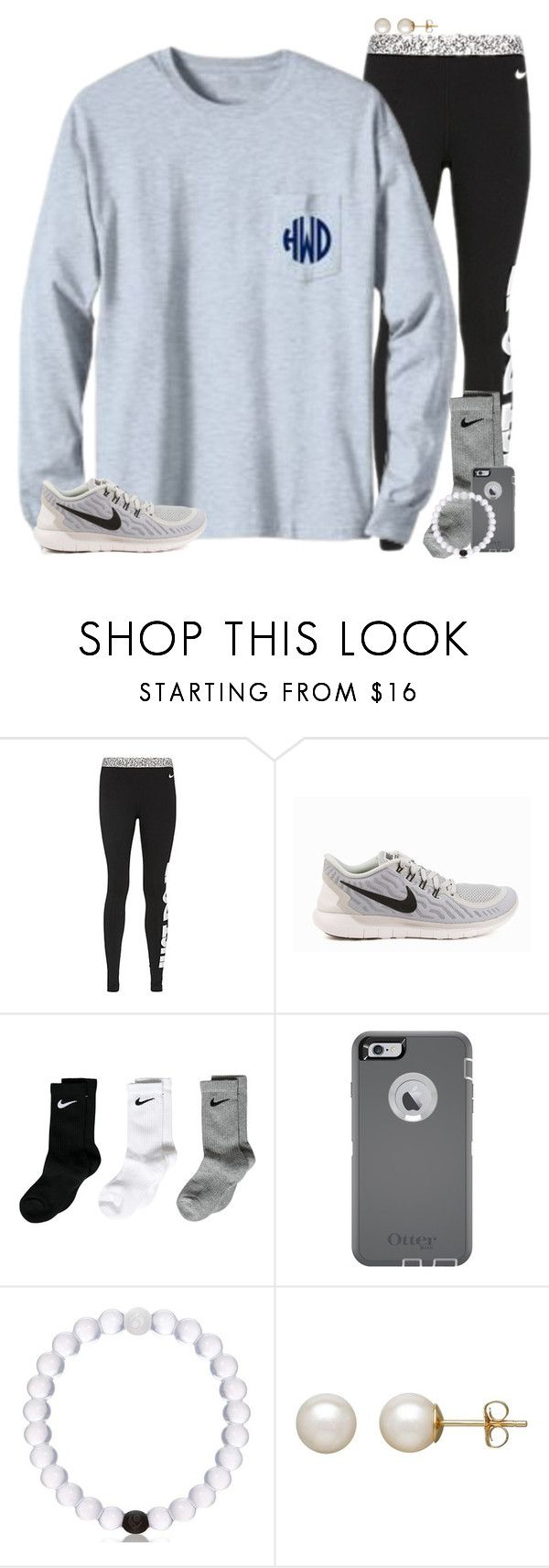 """""""Play practice tomorrow"""" by katew4019 ❤ liked on Polyvore featuring NIKE, OtterBox, Honora, women's clothing, women's fashion, women, female, woman, misses and juniors"""