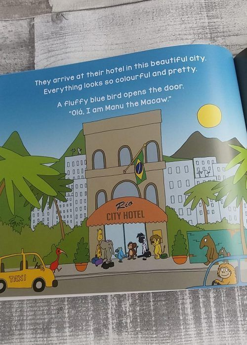 Giveaway: Jungle Jam in Brazil Book Review