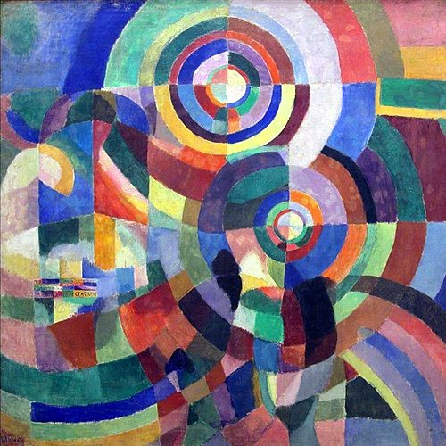 Sonjy Delaunay, Electric Prisms, 1914