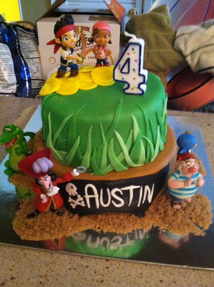 192 best Cakes Jake the Neverland Pirates images on Pinterest