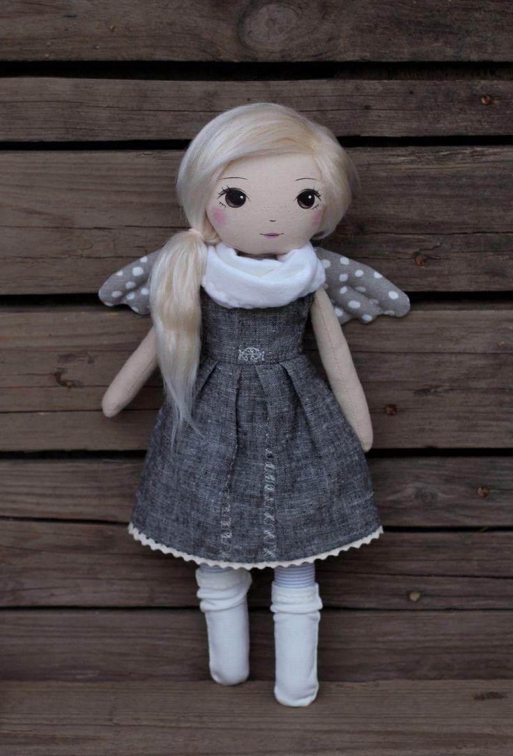 Adina z Anielina (loma), handmade doll by romaszop
