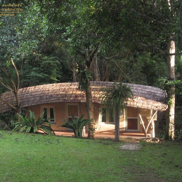 earth bamboo houses - Google Search