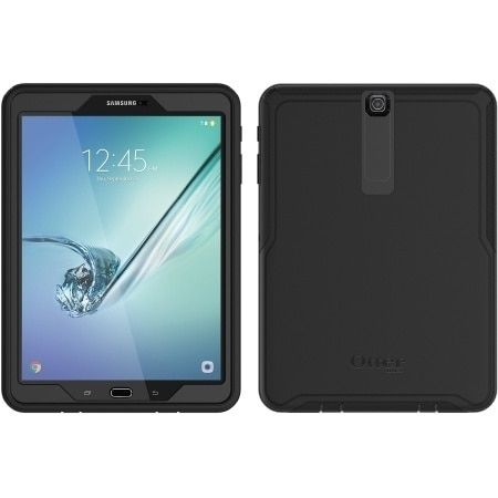 OtterBox - Defender Case Samsung Tab S2 9.7 in Black