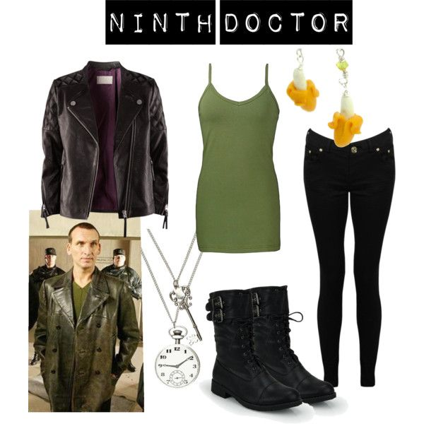 Character: The Ninth Doctor Fandom: Doctor Who Episodes: Dalek, The Long Game,  Fandom wardrobe