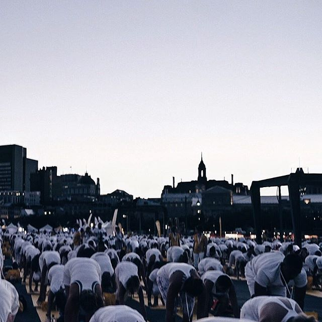 This is what an #EscapeMoment looks like for 7,000 people in Montreal. So grateful to be here alongside @oikos_canada , taking it all in. #lolewhite