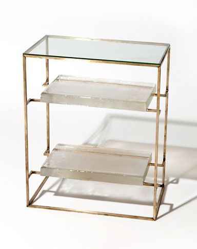 Floating Glass Side Table - Double Product Image Number 1