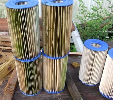 Clean a Cartridge Type Swimming Pool Filter