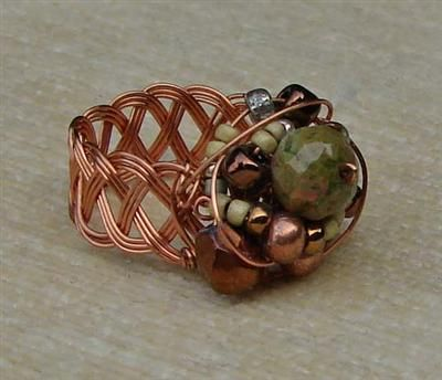 22 best Wire Wrapped Rings images on Pinterest | Wire jewelry ...