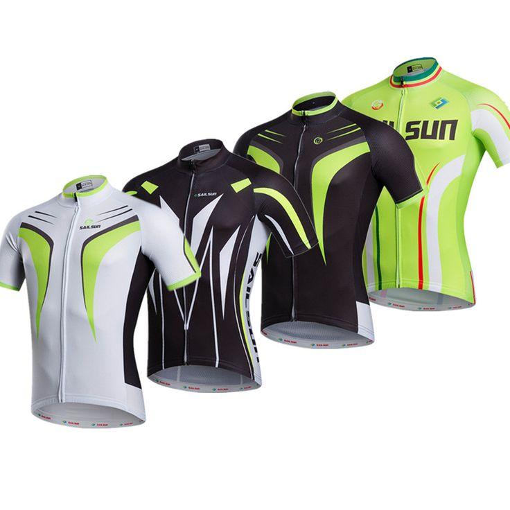 2016 Green Red Cycling clothing Bike jersey top Men Women sports bicycle road jersey short sleeve Bike wear quick dry