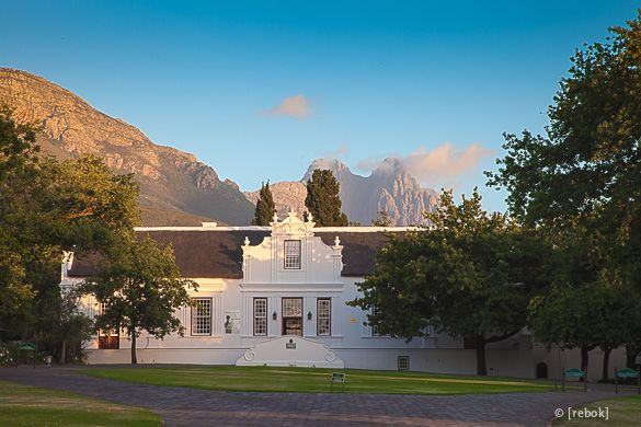 Historic Tour through Lanzerac Wine Estate in Stellenbosch #SouthAfrica