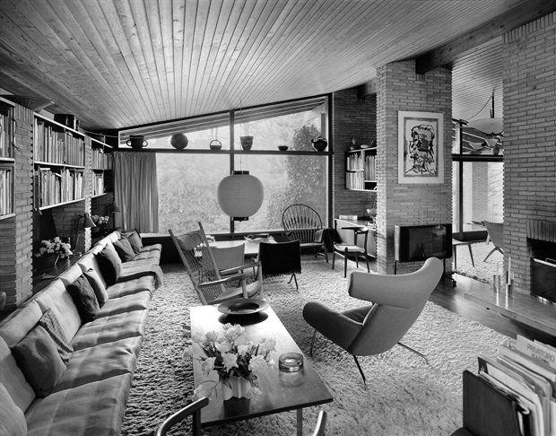Home Of Hans J Wegner Mid Century Interior Design