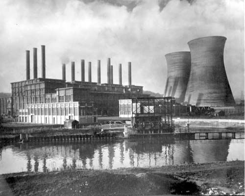 Kirkstall Power Station, Leeds Electricity