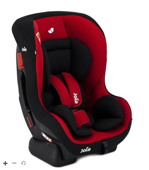 Joie Tilt - 0+/1 Car Seat in Ladybird colour. Click on image to view current price and buy online. Seat for children aged 0-4 years. More details online. #Joie #JoieCarSeat #CarSeat #Baby #BabySeat #ChildSeat #RearFacing #ForwardFacing #Boots #JoieTilt #5PointHarness