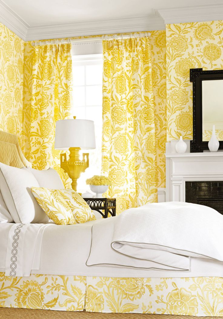 The 25+ best Matching wallpaper and curtains ideas on ...