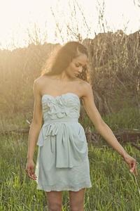Each dress is custom made!