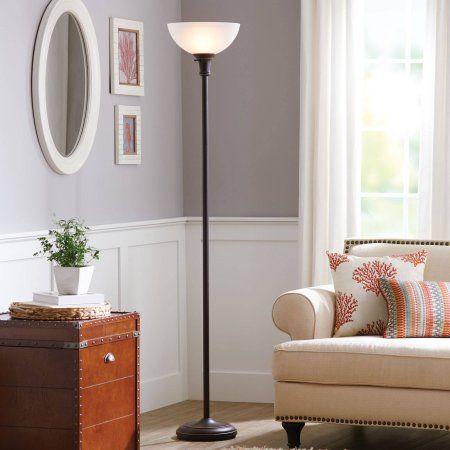 "Better Homes and Gardens 71"" Torchiere Floor Lamp - Walmart.com"