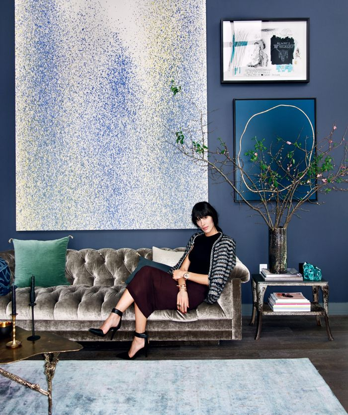 BRANCHES: Your Home's Best Accessory  |  Athena Calderone in her Brooklyn home. Photo by Stephen Toner.