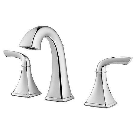 Polished Chrome Bronson Widespread Bath Faucet - LG49-BS0C - 1