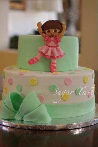 Sugar Taste: #100 ballerina Dora cake Cakes Pinterest ...