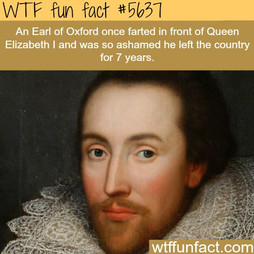The most embarrassing fart in history? - WTF fun fact