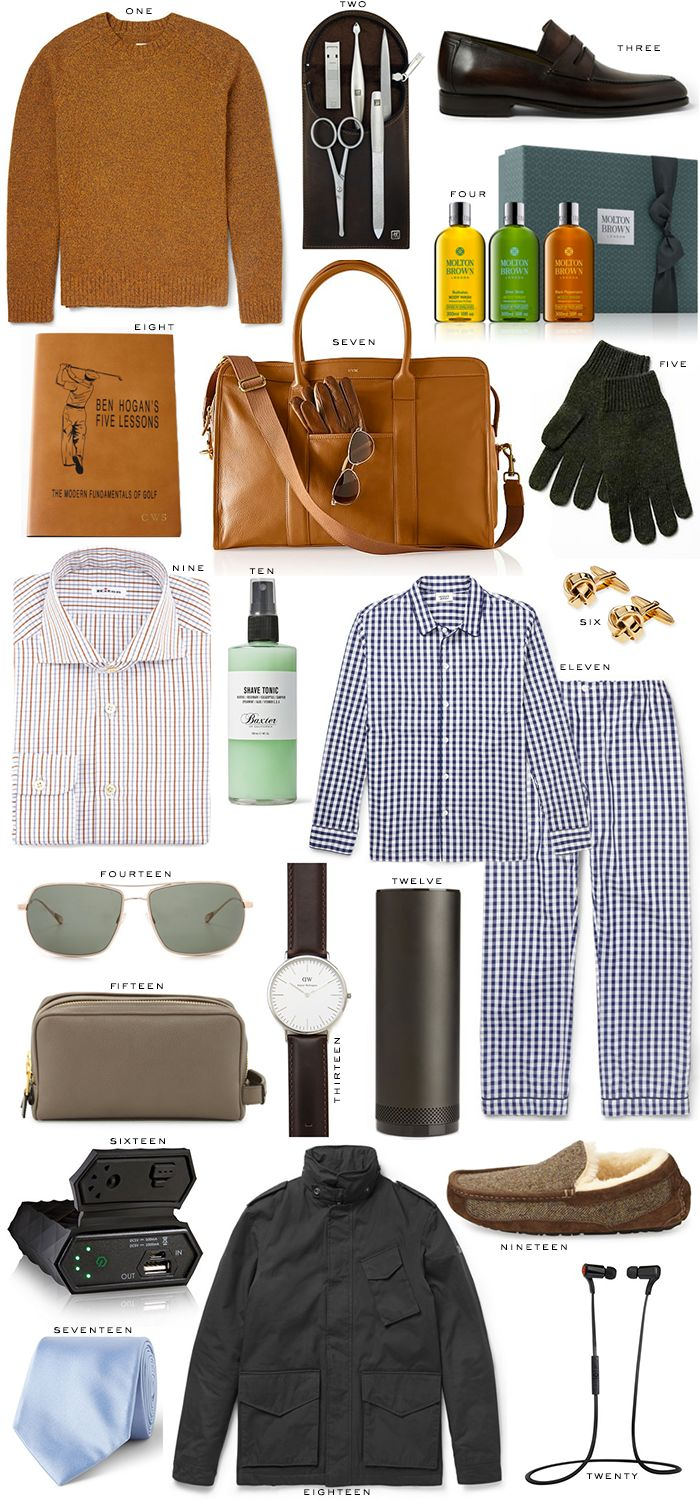 holiday gift guide // for him | The Style ScribeThe Style Scribe