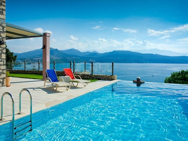 Villa à Ligia, proche de Lefkas, Grèce