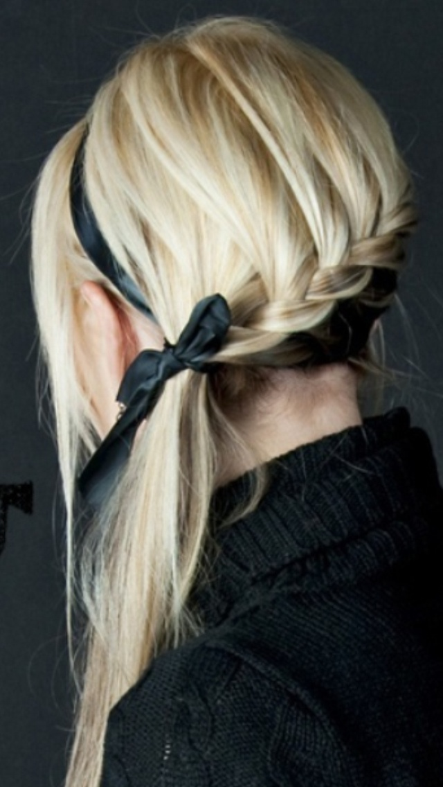I love this hair do so cute want to do this!