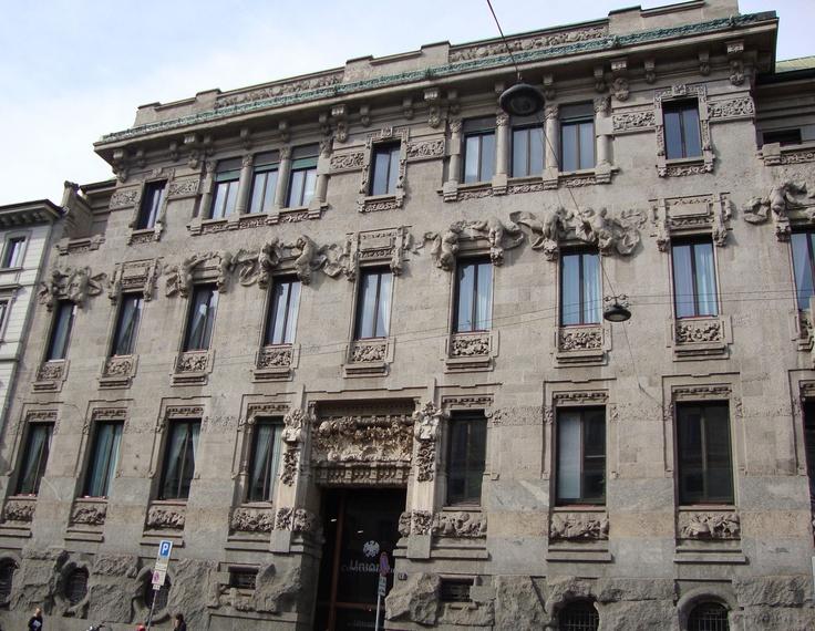 Palazzo Castiglioni Corso Venezia, 47/49 (Via Marina, 10), Milano   Facciata