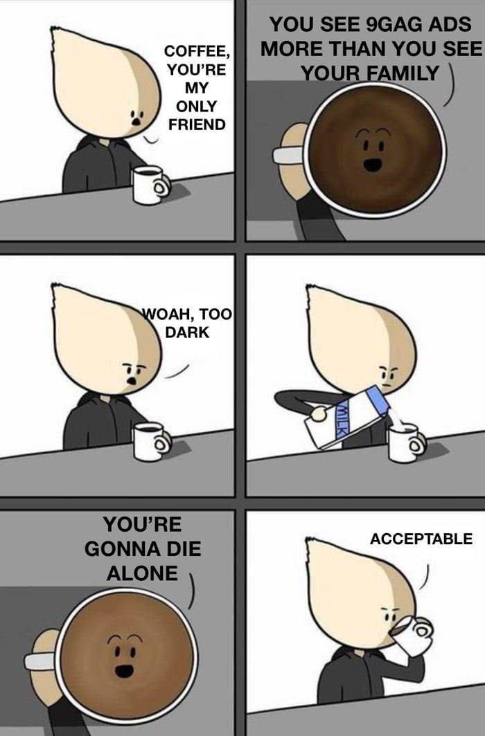Black Coffee Meme : black, coffee, Wonder, Black, Coffee, Would, College, Memes,