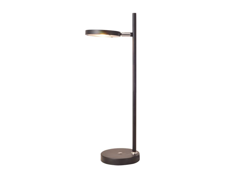 LEDlux Reece LED Dimmable Table Lamp in Black