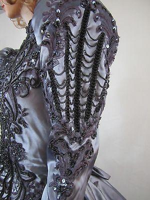 Gothic Steampunk Victorian Ball Gown Wedding Dress Rococo Masquerade Fantasy WOW