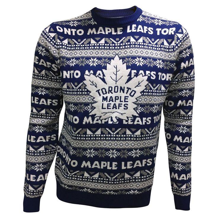 Toronto Maple Leafs Men's 2016 Festive Sweater - shop.realsports - 1