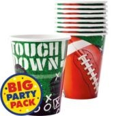 Football Frenzy Cups 36ct- Football Theme Party- Sports Theme Party- Theme Parties - Party City