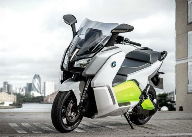 BMW's stylish electric scooter shown off in new video, can go 62 miles with three-hour charge | The Verge