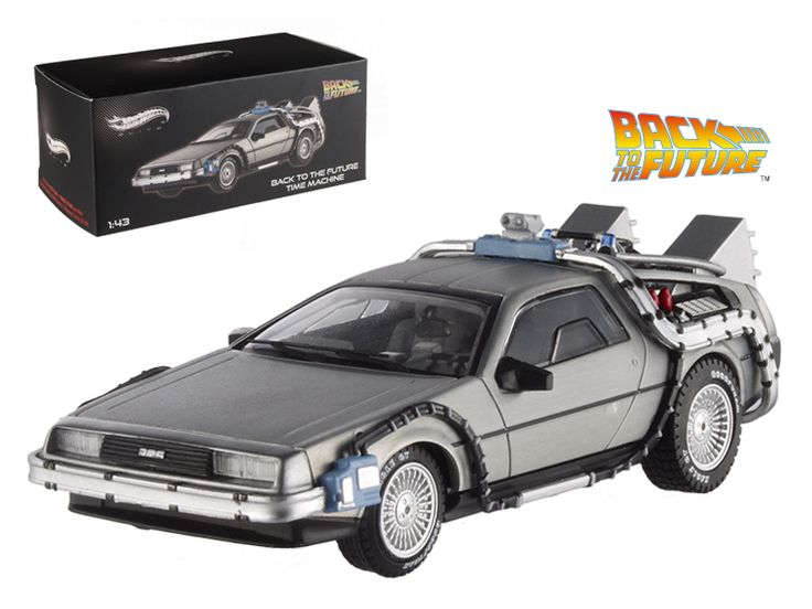 Hot wheels Delorean DMC-12 Back To The Future Time Machine Cult Classics 1/43 Diecast Model Car by Hotwheels - Rubber tires. Brand new box. Detailed interior, exterior. Comes in plastic display showcase. Dimensions approximately L-4 inches long. Limited Edition 1 of 10000 Produced Worldwide.-Weight: 1. Height: 5. Width: 9. Box Weight: 1. Box Width: 9. Box Height: 5. Box Depth: 5