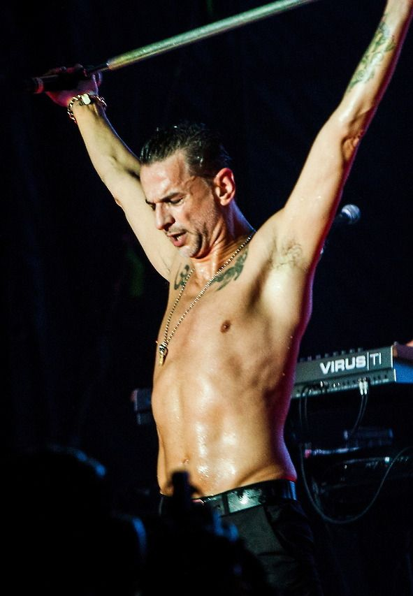 Dave Gahan of Depeche Mode.  My horns are growing.