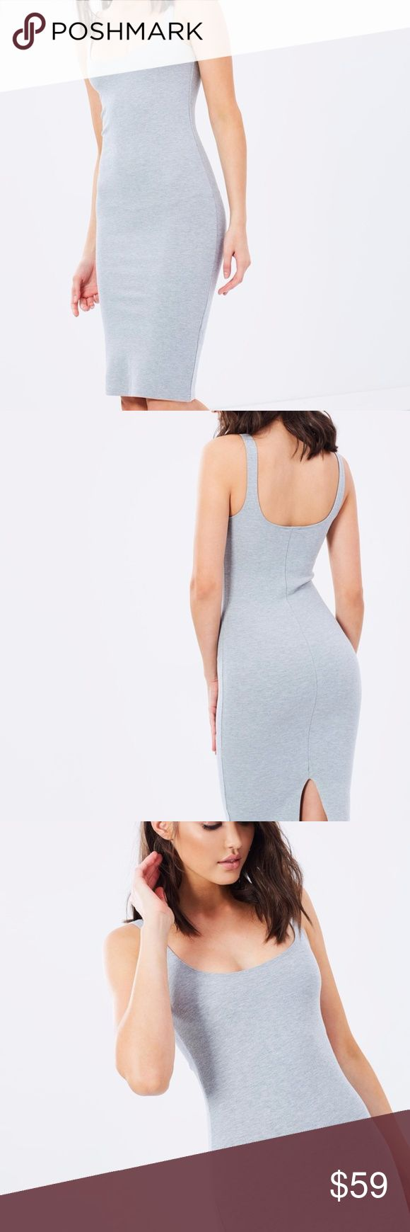 NWT BARDOT MIDI DRESS BRAND NEW  SEXY AND COMFORTABLE. GREY Bardot Dresses Midi