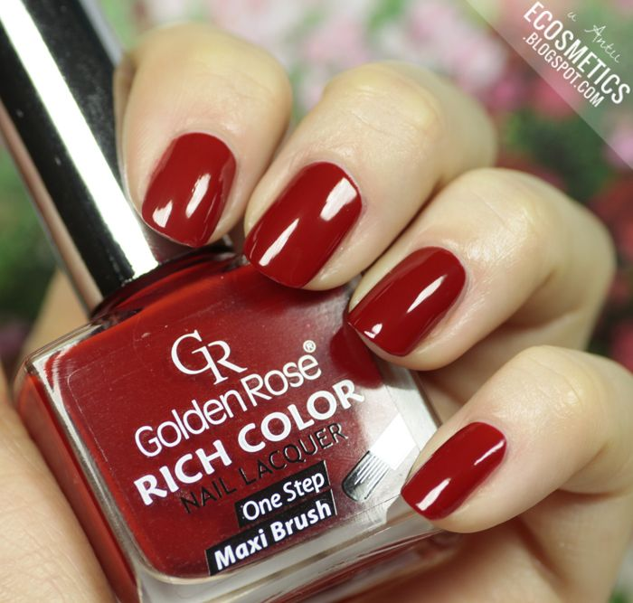 e-Cosmetics: Golden Rose Rich Color #24